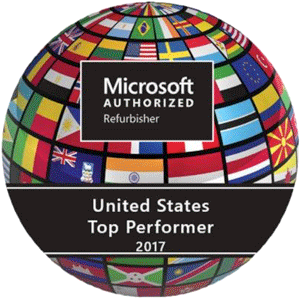 Joy Systems is a Microsoft Authorized Refurbisher Top Performer and the biggest MAR in the nation.